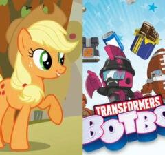 my little pony transformers botbots
