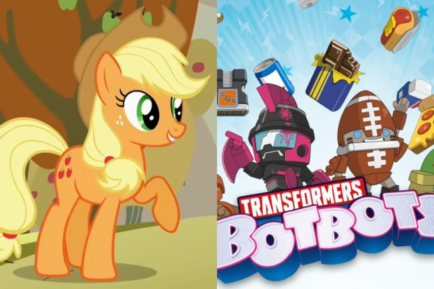 my little pony transformers botbots