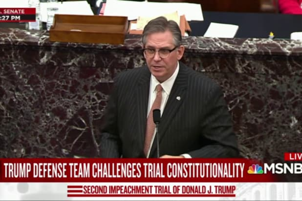nobody is buying trump lawyer bruce castor nonsense impeachment