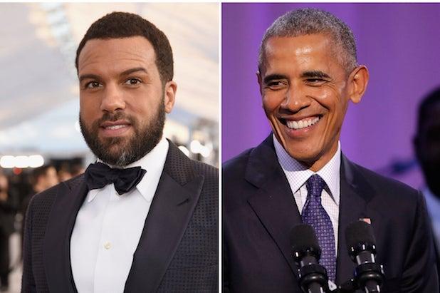 Barack Obama O-T Fagbenle