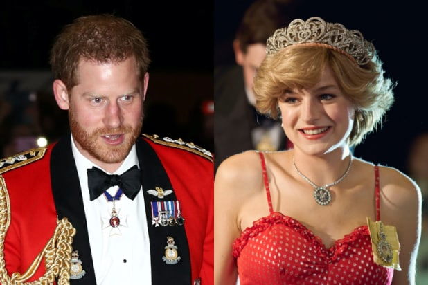 Prince Harry Says He's 'Way More Comfortable' With 'The Crown' Than News Stories About the Royal Family (Video).jpg