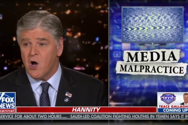 sean hannity says american journalism is dead and buried