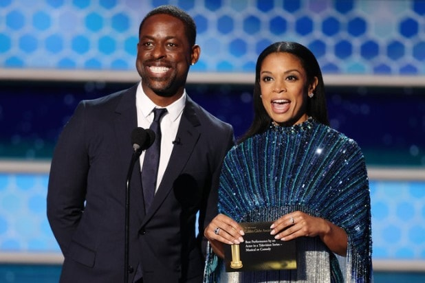 sterling k brown Susan Kelechi Watson 2021 golden globes