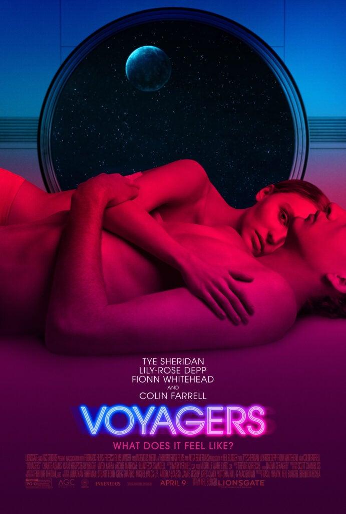 Voyagers Poster Tye Sheridan Lily-Rose Depp