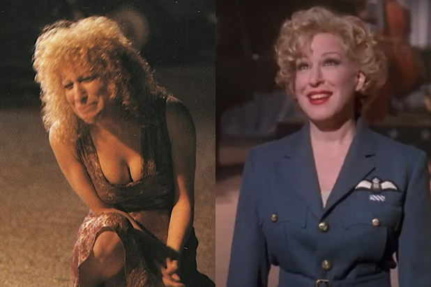 Bette Midler, The Rose and For the Boys