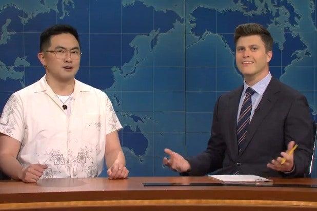 Bowen Yang Colin Jost SNL