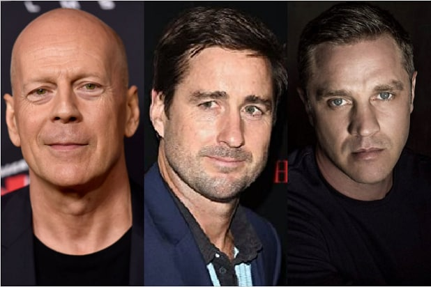 Bruce Willis Luke Wilson Devon Sawa Gasoline Alley