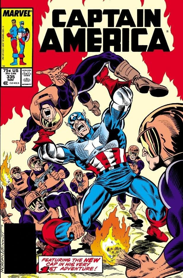 Captain America #335 (John Walker)