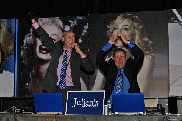 Darren Julien and Martin Nolan of Julien's Auctions Sell Jordan Jackson Basketball Sold For $294,000