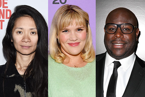 Film Independent Directors Close up Chloe Zhao Emerald Fennell Steve Mcqueen