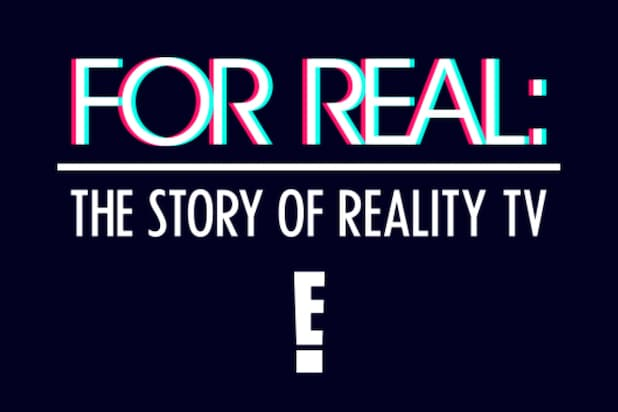 For Real the Story of Reality TV