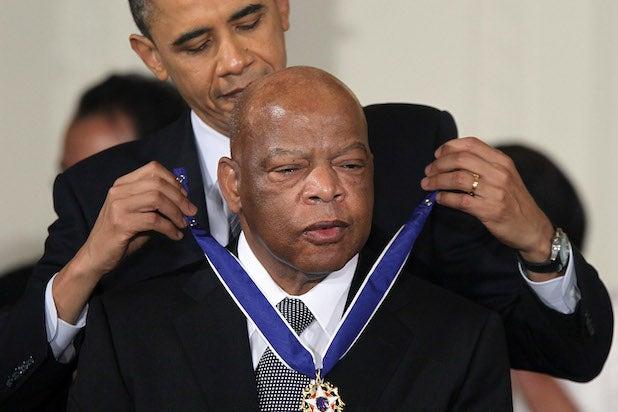 Barack Obama John Lewis NAACP Image Awards
