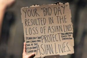 Asian community hate crimes Atlanta shooting
