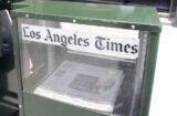 LA Times newspaper rack