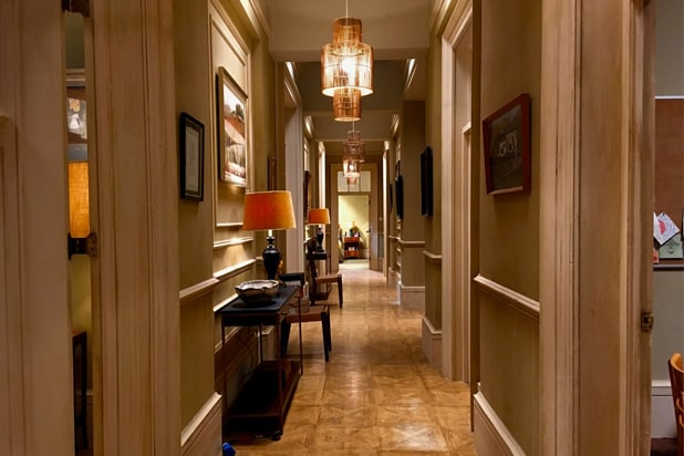 The Father hallway