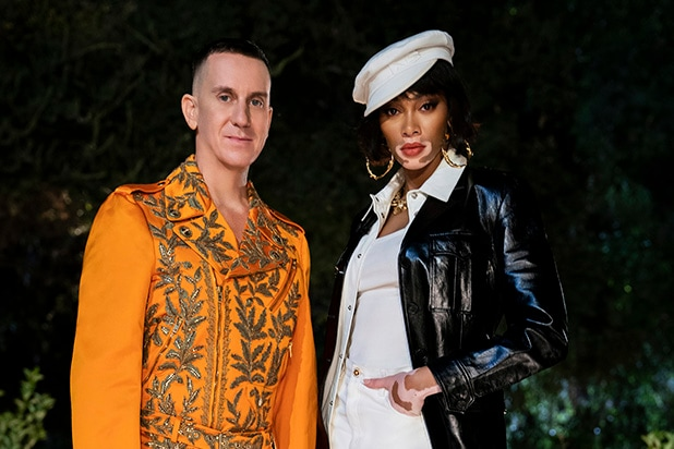 JEREMY SCOTT and WINNIE HARLOW in MAKING THE CUT