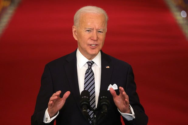 President Biden Delivers Primetime Address To Nation On Next Phase Of Pandemic