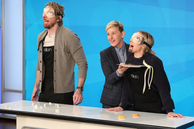 Kristen Bell Dax Shepard Family Game Fight