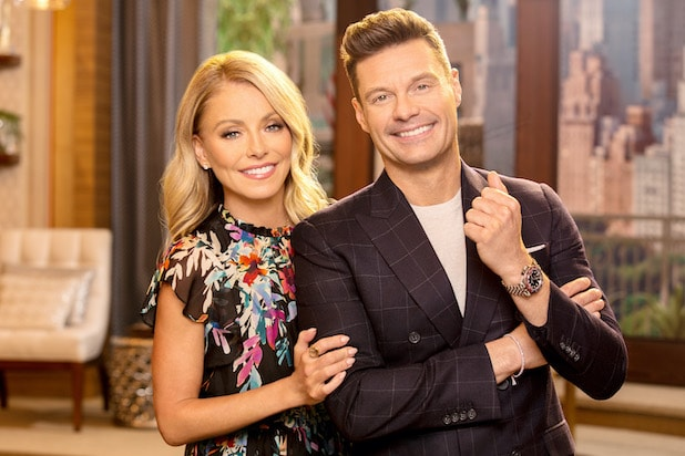 KELLY RIPA, RYAN SEACREST Live With Kelly and Ryan