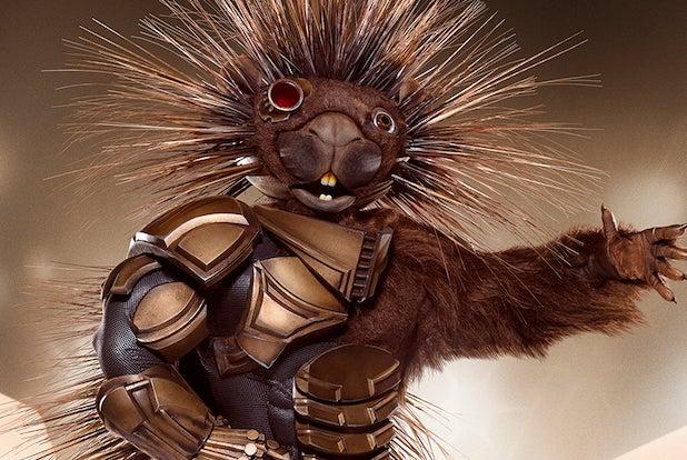 Masked Singer Porcupine