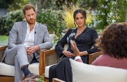 Prince Harry Meghan Markle Oprah Winfrey CBS