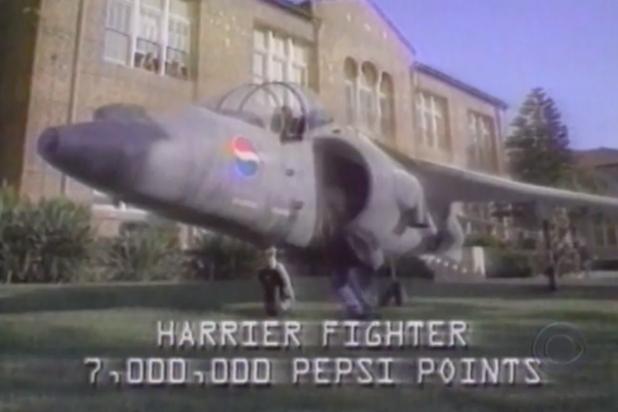 Pepsi Harrier Jet