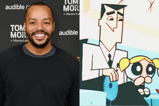 Professor Drake Utonium donald faison powerpuff girls