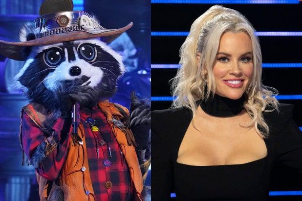Raccoon Masked Singer Jenny McCarthy