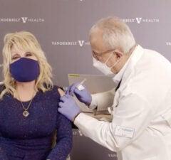 dolly parton vaccine