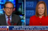 Jen Psaki and Chris Wallace Fox News Sunday