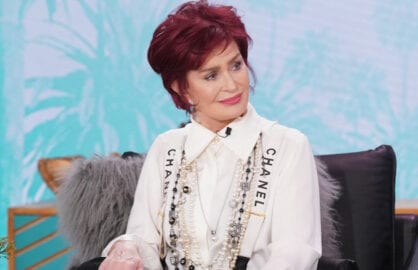 Sharon Osbourne Calls The Talk Fight About Piers Morgan The Biggest Setup Ever Video