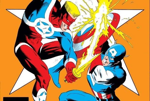 Steve Rogers Captain America vs John Walker