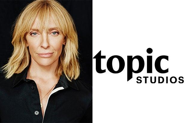 Toni Collette Topic Studios