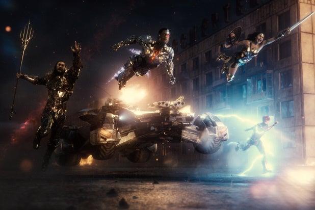 Zack Snyder's Justice League Hero Shot