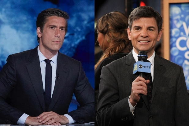 David Muir George Stephanopoulos