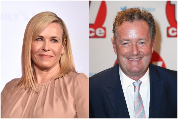 This Time Chelsea Handler Ripped'A--hole' Piers Morgan as a'Terrible Interviewer' to His Face thumbnail