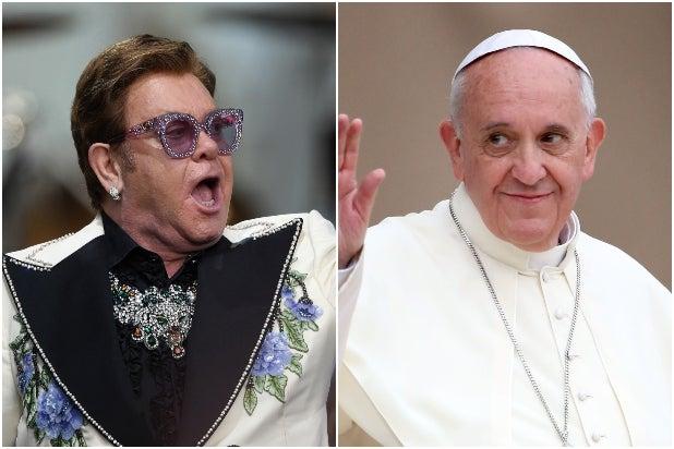 Elton John Pope Francis