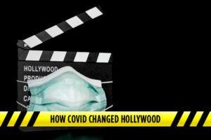 hollywood production covid coronavirus pandemic maska