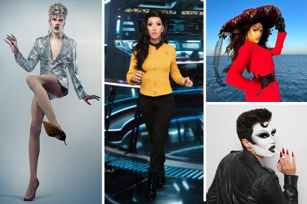 'RuPaul's Drag Race' Stars As Their Favorite Paramount+ Characters (Photos)