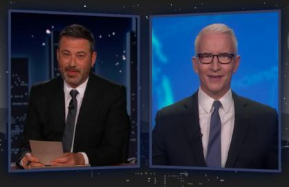 Anderson Cooper Jimmy Kimmel