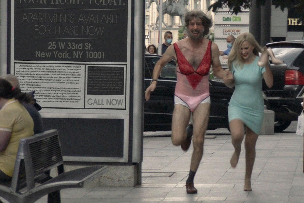 Borat Subsequent Moviefilm - Sacha Baron Cohen Maria Bakalova
