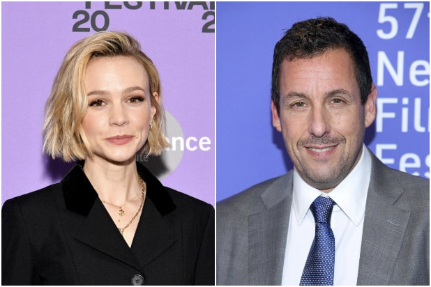 Carey Mulligan Adam Sandler Spaceman