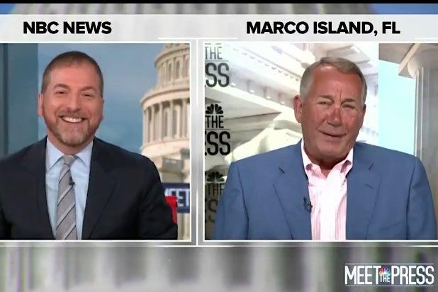 Chuck Todd John Boehner Meet the Press