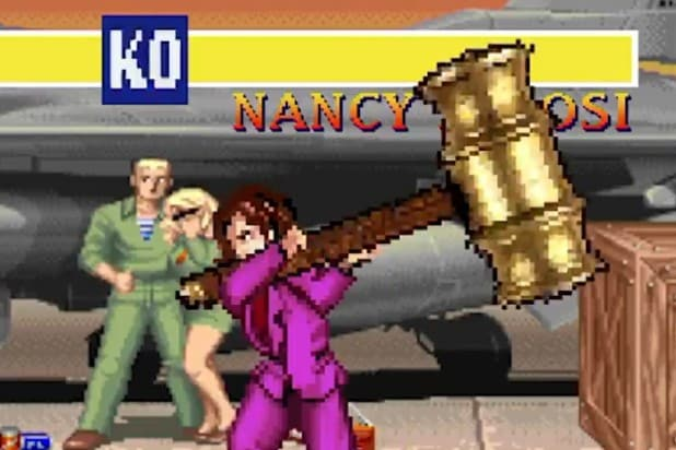 Colbert Nancy Pelosi Street Fighter II
