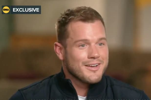 Colton Underwood GMA interview
