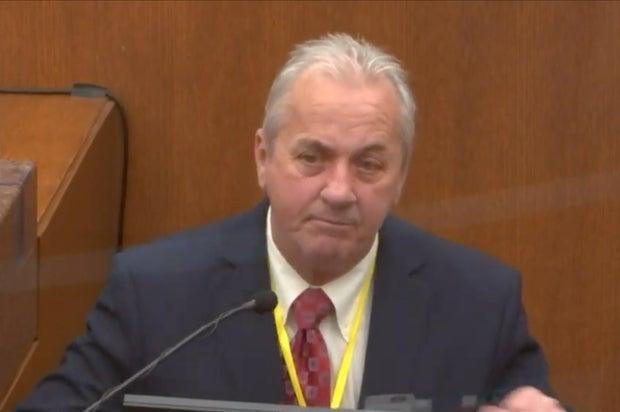 Derek Chauvin trial Lt. Richard Zimmerman