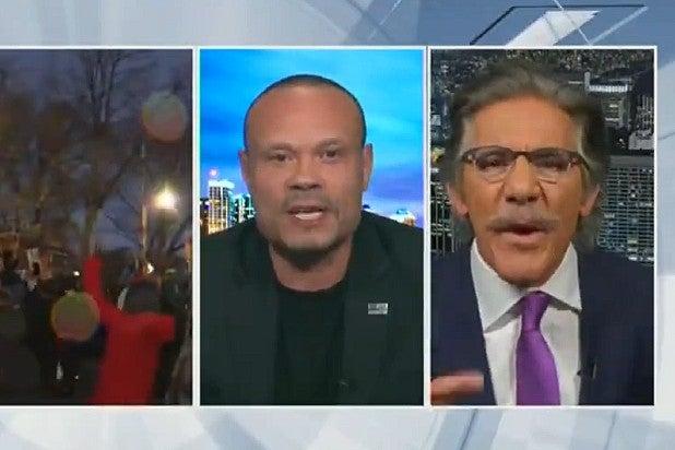 Geraldo Rivera Dan Bongino Hannity Fight