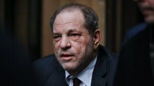 Harvey Weinstein at Manhattan trial