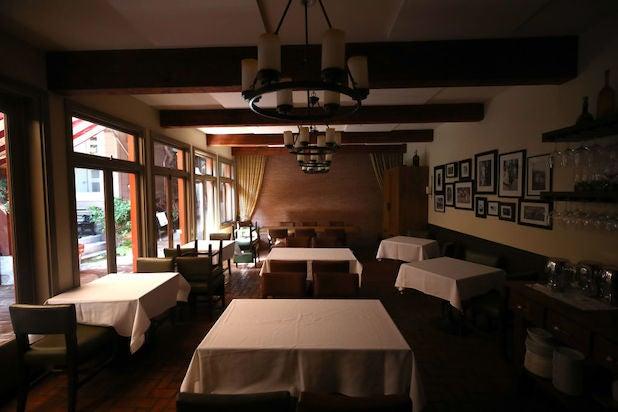 San Francisco restaurant during COVID shutdown