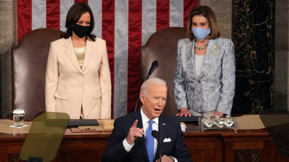 Biden first address to joint session of Congress